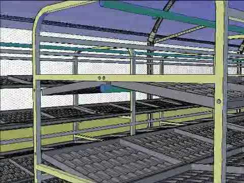 Invernadero hidrop nico de 147 m para f v h k ga youtube for Construccion de viveros e invernaderos