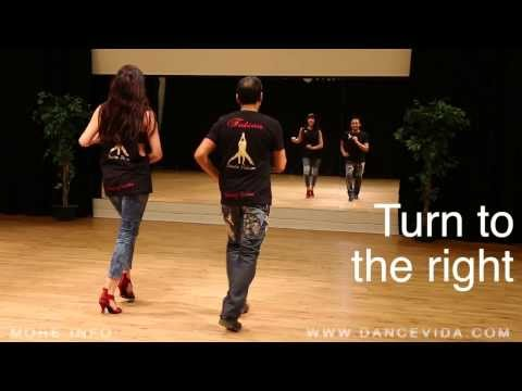 2 Salsa Basic steps Turn to the right and left