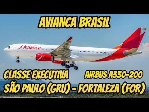 Flight Report #8: São Paulo (GRU) - Fortaleza (FOR), na Business Class da Avianca Brasil