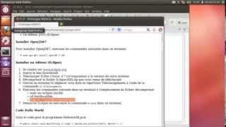Installation de éclipse sous Linux Ubuntu