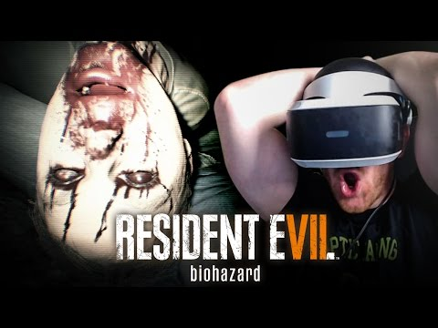 WELCOME TO THE FAMILY!!   RESIDENT EVIL 7 BIOHAZARD (Playstation VR)