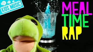 Meal Time Song for Kids    Food Rap for Children   Nerd Dad Music