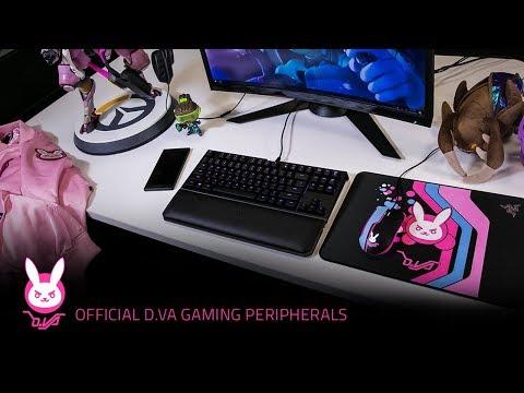 Official D.Va Razer Gaming Peripherals