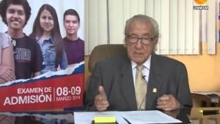 Mensaje del Jefe de la Oficina Central de Admisión a los postulantes al Examen de Admisión 2014-II