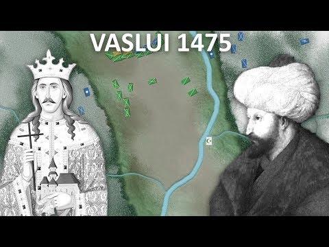 Bătălia de la Vaslui 1475 (Ștefan cel Mare vs Suleiman Pașa)