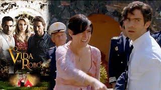 Josefina descubre a Dimitrio besandose con Virginia | Lo que la vida me robó - Televisa