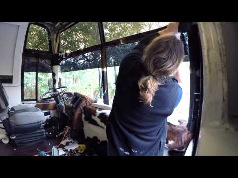 How to build a Bus Conversion S19Ep10 The Front Blinds