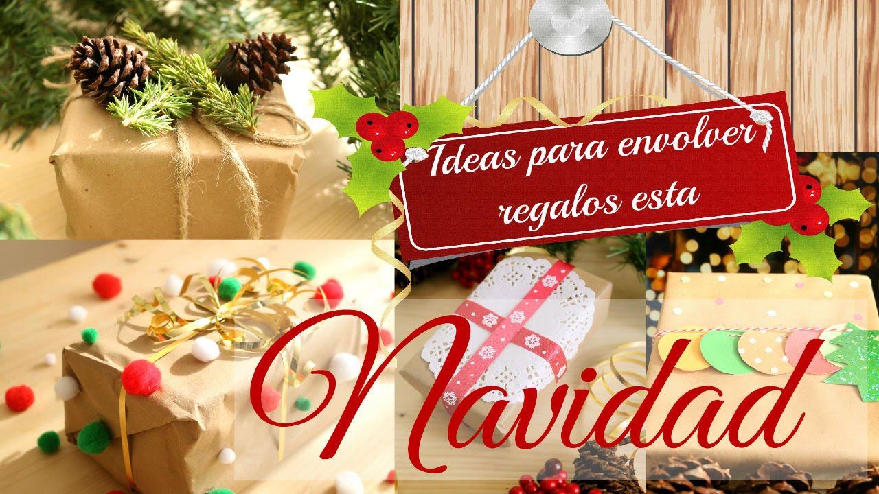 Ideas para envolver regalos por navidad christmas gift for Ideas para christmas de navidad