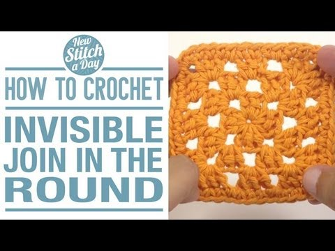 Invisible Join Crochet Amigurumi : How to Crochet an Invisible join in the Round - YouTube
