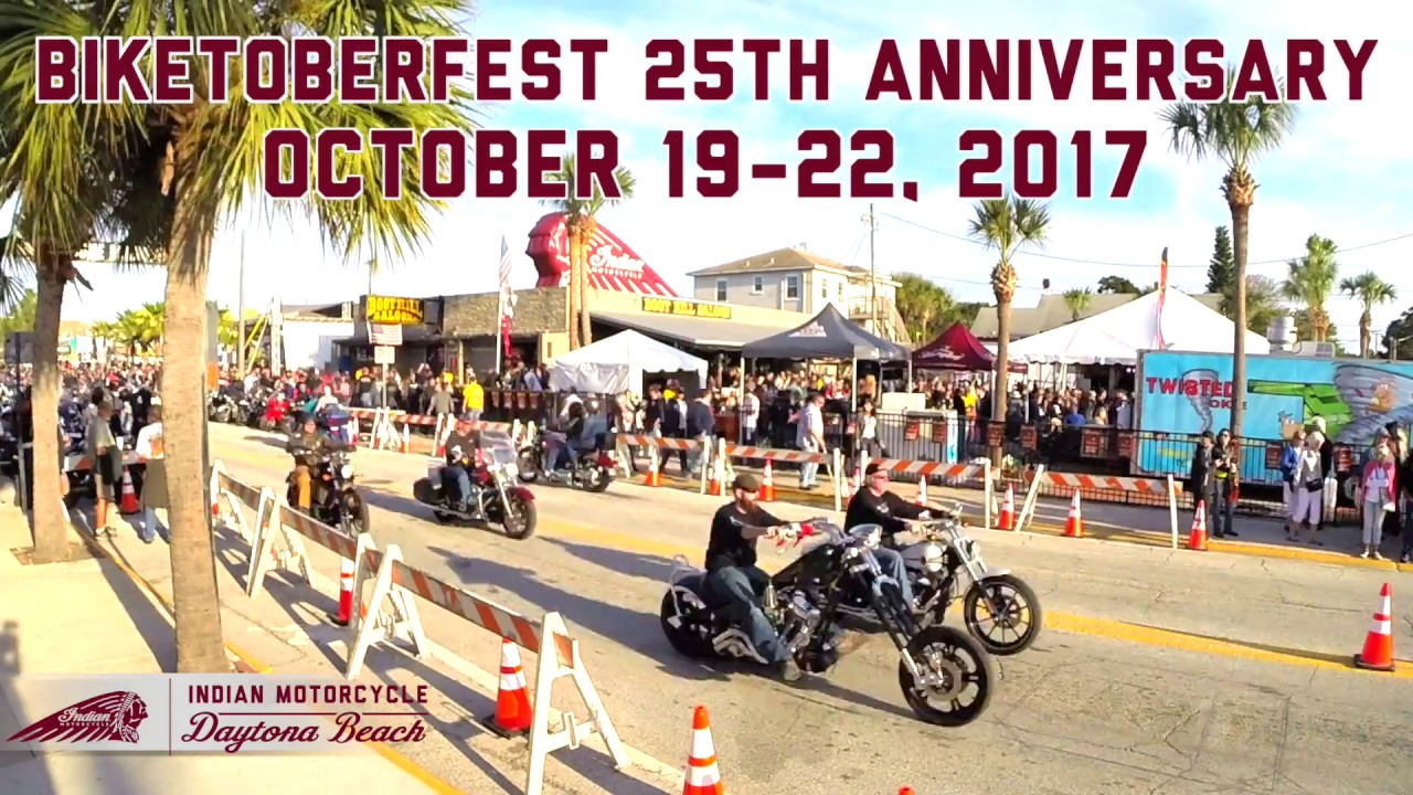 Biketoberfest 2017 Indian Motorcycle Daytona Beach