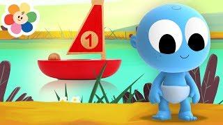 Color Vehicles for Kids | Goo Goo Baby Play Cartoon Ship & Submarine Toys | Educational by BabyFirst