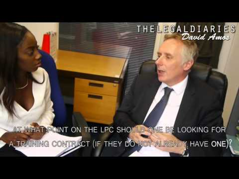 Making the most of the LPC The legal diaries | LawCareers Net vlog