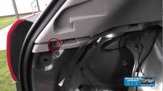 Einbauanleitung Kofferraumbeleuchtung KIA Sportage SLS