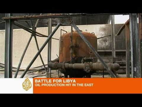 Oil installations targeted in eastern Libya