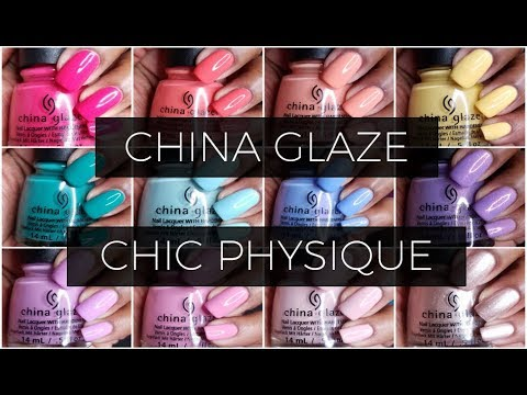 China Glaze Chic Physique    Live Swatch and Review