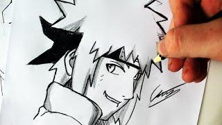 Como Desenhar Minato Namikaze [4º Hokage] - (How to Draw Minato) - SLAY DESENHOS #149