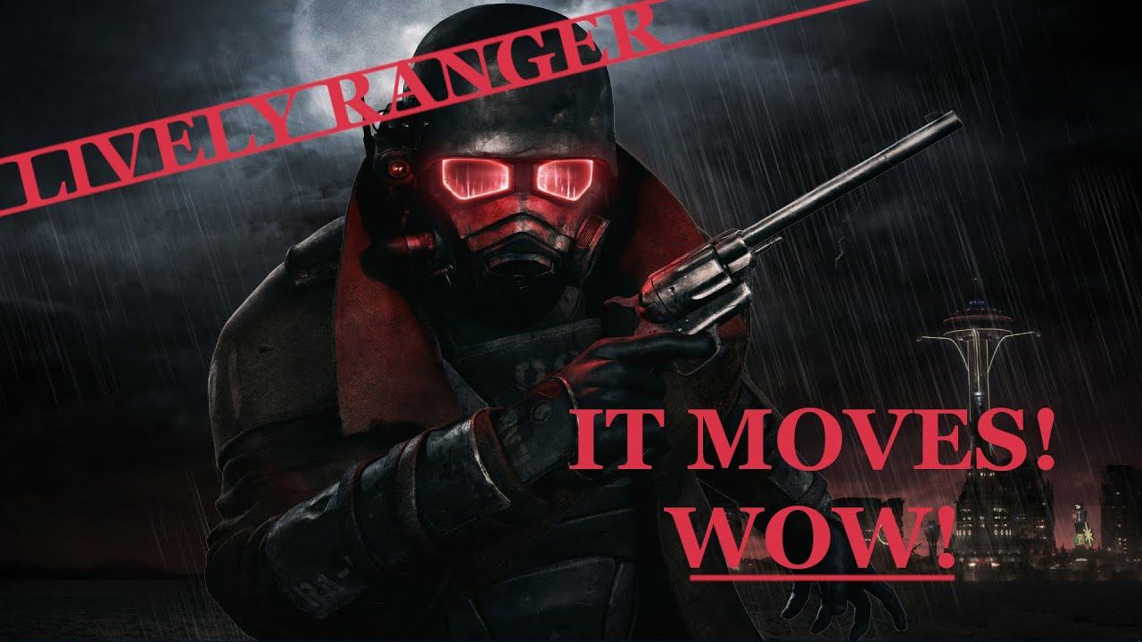 Lively Ranger Dynamic Main Menu For Nvge At Fallout New Vegas