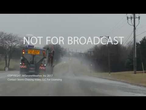January 16, 2017 - Northeast Illinois Freezing Rain Event - 4K Resolution