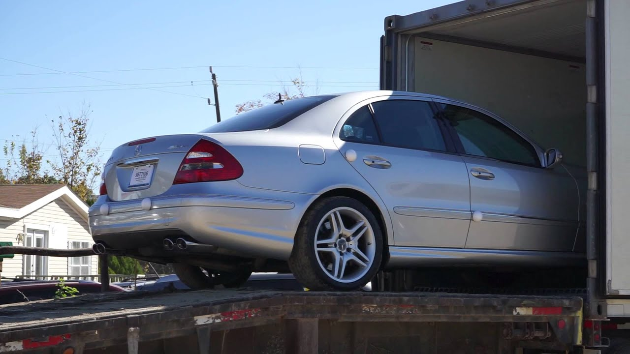Mercedes benz e55 amg 2005 shipped overseas handal youtube for Mercedes benz north vancouver