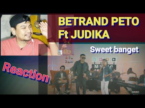 BETRAND PETO Ft JUDIKA - CINTA KARENA CINTA | REACTION