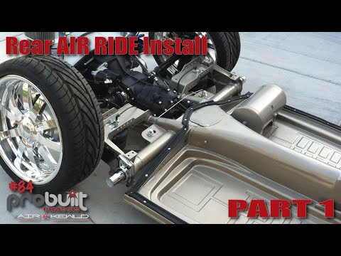 The Karmann Ghia Chassis Will Be SLAMMED! Part 1 Of An Air Ride Install From Airkewld