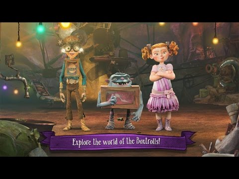 The Boxtrolls: Slide 'N' Sneak Official iPhone/iPad Game GamePlay