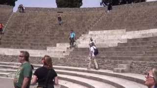 Tour of Pompeii Italy