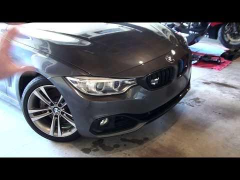 BMW F32 435i M Sport Front Bumper Conversion Installation DIY
