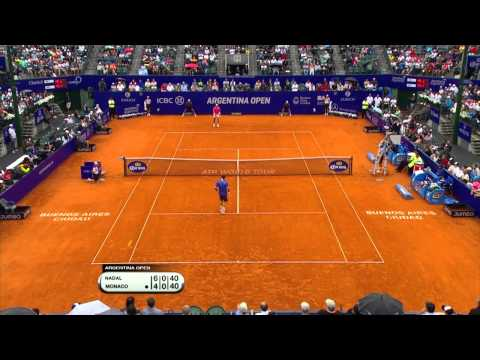 Buenos Aires 2015 Final Highlights Nadal Monaco