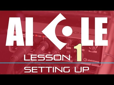🔥 Getting Started In Cubase AI LE Elements Lesson 1 of 6 – Setting Up