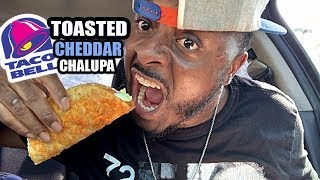 Taco Bell | Toasted Cheddar Chalupa Food Review | Eating Show
