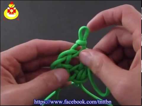 Thắt nút dây hình rùa biển [Liên đoàn TNTT Giuse Hoàng Lương Cảnh]