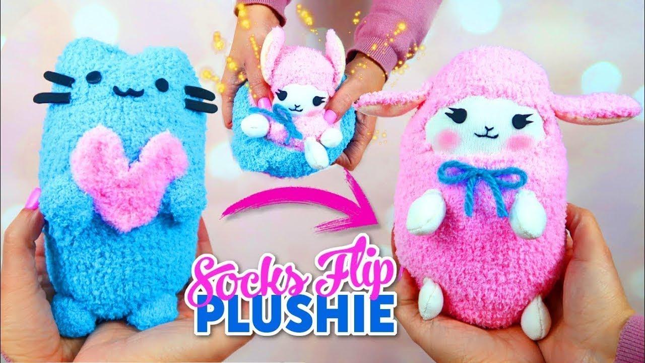 Как сделать игрушку на руку своими руками из носков