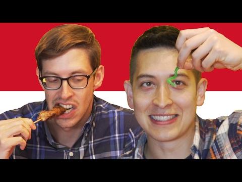 Tasty Tries Indonesian Food