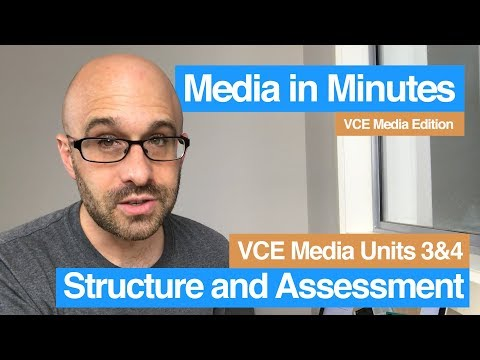Media in Minutes | VCE Media Edition | Structure and