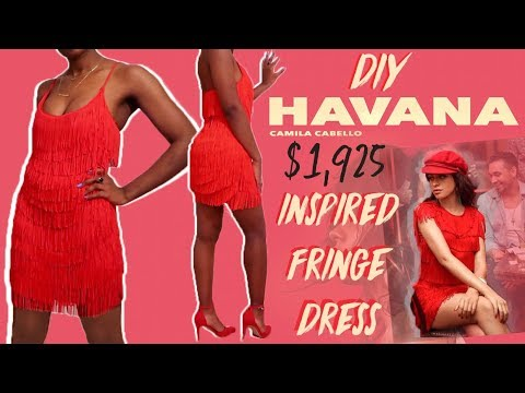 DIY Camila Cabello Havana Fringe Dress | FASHION FIX EP 17 |