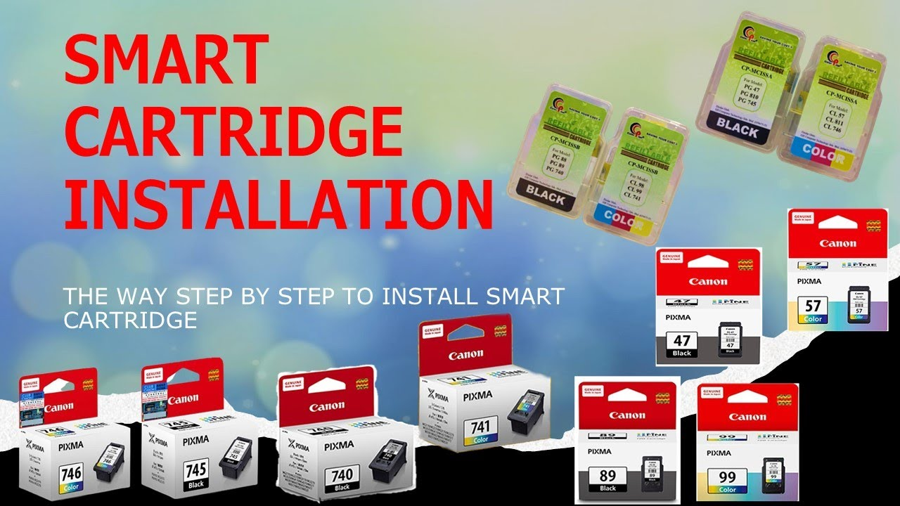 Colorprint Smart Cartridge Installation Youtube Catridge Buat Test Canon Cl 811
