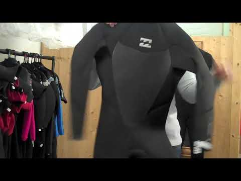 4684980b4b5 Billabong Absolute Comp Winter Wetsuit Range Review 2018 - YouTube