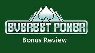 Everest Poker Bonus Code No Deposit