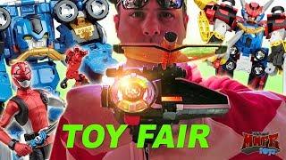 Power Rangers Hasbro Toy Fair (Beast Morphers, Lightning Collection, Playskool)