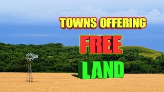 10 Towns Offering Free Land To Almost Anyone.