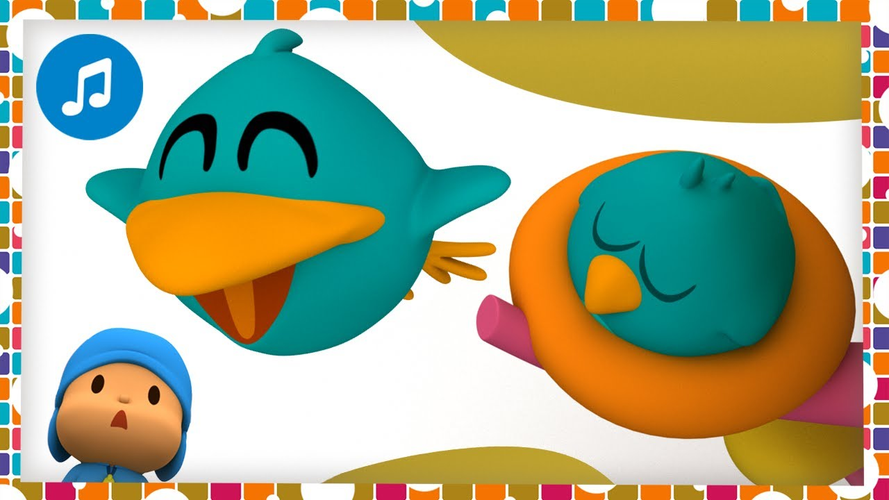 🎶🐦 SLEEPY BIRD & BABY BIRD 🐦🎶 | Nursery Rhymes & Baby Songs - Pocoyo