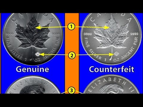 Fake Bullion/Coins? Get Informed!!! It's out there!