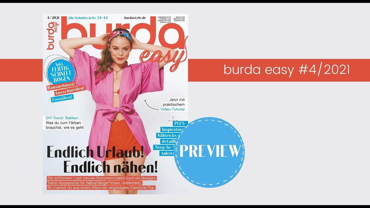 Preview in die neue burda easy #4/21
