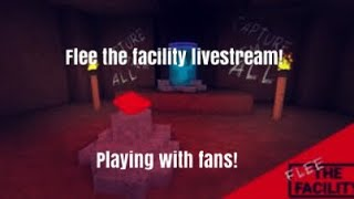 Playing roblox flee the facility with subscribers!!! Part 37