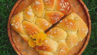 Công thức làm Bánh mì hoa cúc ( Brioche)