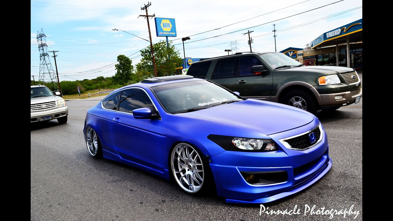 Genesis Coupe 2016 >> Stanced Honda Accord rolling static - YouTube