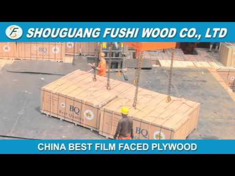 Film faced plywood from Fushi wood group