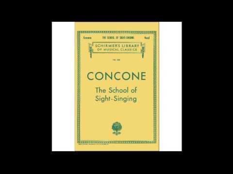 Concone Pdf