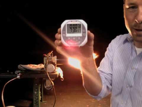 Eco-Spin Oil Burner Test
